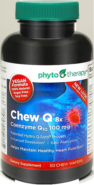 Vegan Chew Q® 100mg Coenzyme Q10